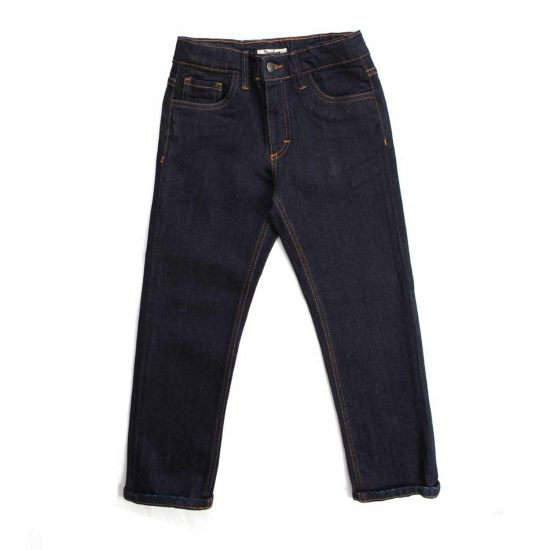Nupkeet 1946 - Dark blue Coyote - Jeans for children and teenagers