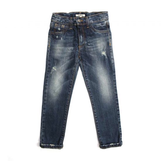 Nupkeet 1946 - Medium blue Lince - Jeans for children and teenagers