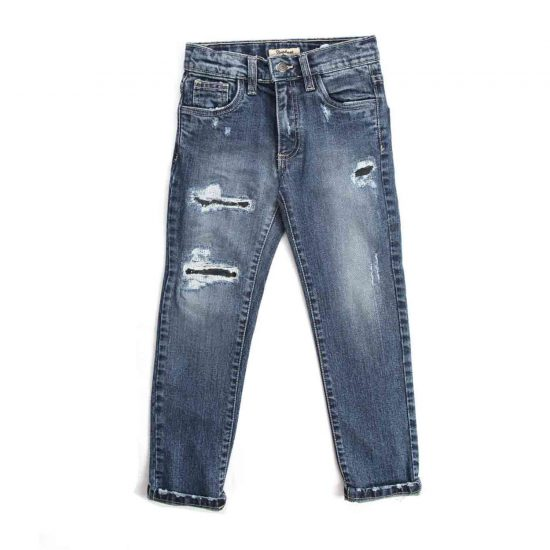 Nupkeet 1946 - Light blue Lontra - Jeans for children and teenagers