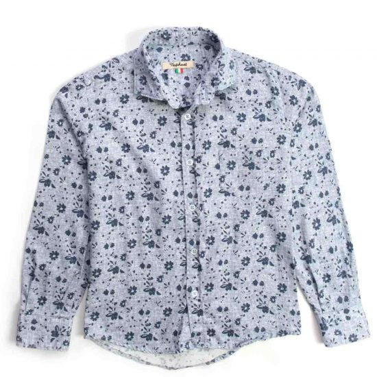 Nupkeet 1946 - Murena azzurra - Camicia in flanella tartan