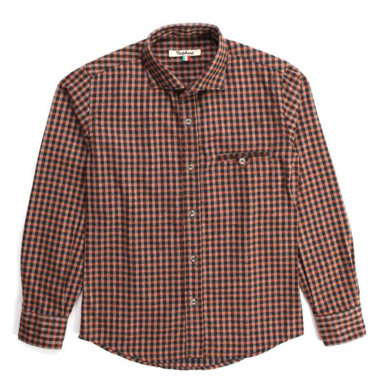 Nupkeet 1946 - Checkered Ghiro - Multicolor flannel shirt