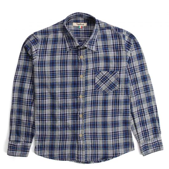 Nupkeet 1946 - Check Daino - Multicolor flannel shirt