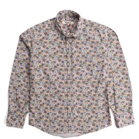 Nupkeet 1946 - Floral Geko - Multicolor poplin shirt