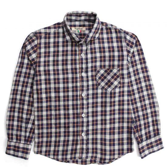 Nupkeet 1946 - Checkered Falco - Flannel shirt for boys