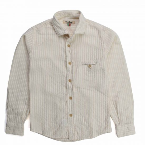 Nupkeet 1946 - Ecru and cream Iena - Embroidered muslin shirt
