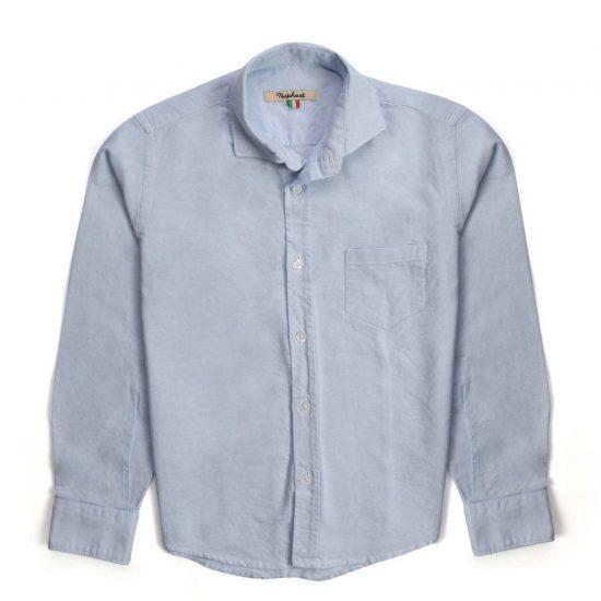 Nupkeet 1946 - Light blue Alce - Long-sleeved Oxford shirt