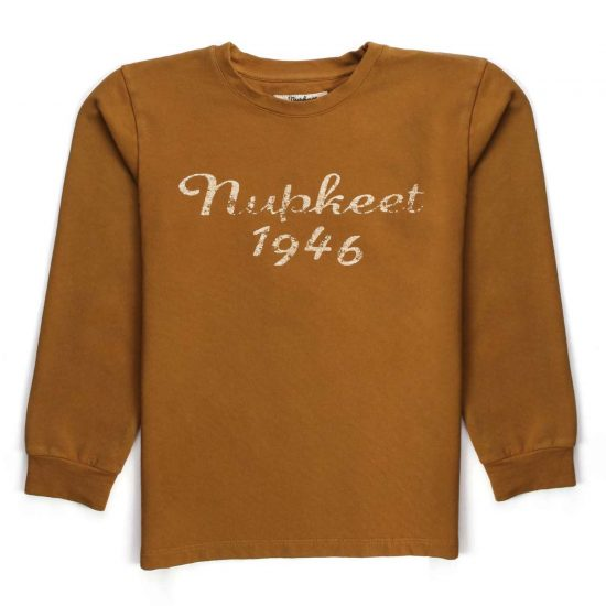 Nupkeet 1946 - Gianduja-colored Scimmia - Long-sleeved T-shirt for children and teens