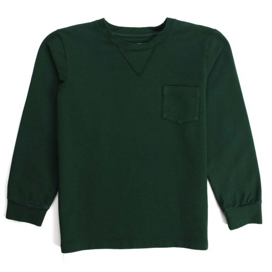 Nupkeet 1946 - Green Istrice - Long-sleeved fleece T-shirt
